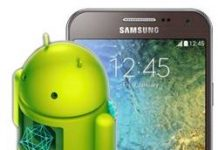 Samsung Galaxy E5 Kurtarma Modu