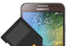 Samsung Galaxy E5 SD kart biçimlendirme