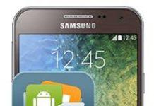 Samsung Galaxy E5 Veri Yedekleme
