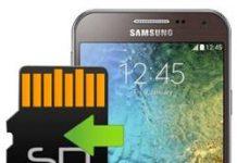Samsung Galaxy E5 uygulamaları hafıza kartına taşıma