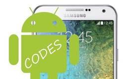 Samsung Galaxy E7 Kodlar