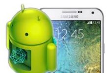 Samsung Galaxy E7 Kurtarma Modu