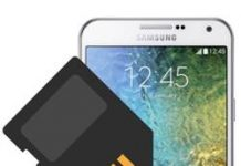 Samsung Galaxy E7 SD kart biçimlendirme