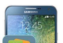 Samsung Galaxy E7 Veri Yedekleme