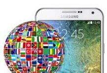 Samsung Galaxy E7 dil değiştirme