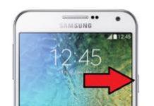 Samsung Galaxy E7 ekran görüntüsü alma