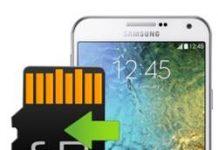 Samsung Galaxy E7 uygulamaları hafıza kartına taşıma