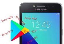 Samsung Galaxy Grand Prime Plus Play Store hataları