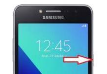 Samsung Galaxy Grand Prime Plus ekran görüntüsü alma