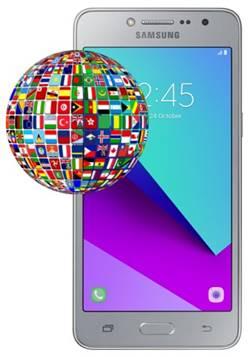 Samsung Galaxy J2 Prime dil değiştirme