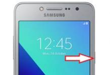 Samsung Galaxy J2 Prime ekran görüntüsü alma