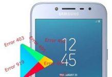 Samsung Galaxy J2 Pro 2018 Play Store hataları