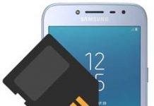 Samsung Galaxy J2 Pro 2018 SD kart biçimlendirme