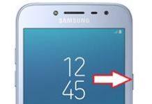 Samsung Galaxy J2 Pro 2018 ekran görüntüsü alma