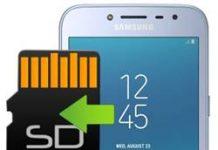 Samsung Galaxy J2 Pro 2018 uygulamaları hafıza kartına taşıma