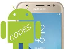 Samsung Galaxy J3 2017 Kodlar