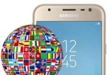 Samsung Galaxy J3 2017 dil değiştirme