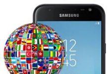 Samsung Galaxy J3 Pro 2017 dil değiştirme
