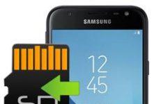 Samsung Galaxy J3 Pro 2017 uygulamaları hafıza kartına taşıma