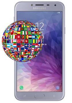Samsung Galaxy J4 dil değiştirme