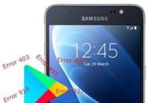 Samsung Galaxy J5 2016 Play Store hataları
