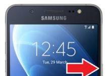 Samsung Galaxy J5 2016 ekran görüntüsü alma