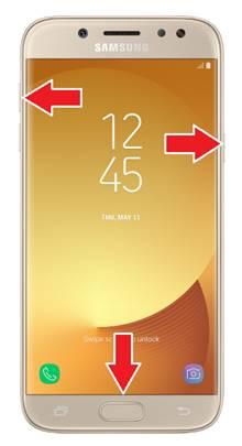 Samsung Galaxy J5 2017 Format Atma