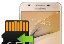 Samsung Galaxy J5 Prime uygulamaları hafıza kartına taşıma