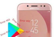 Samsung Galaxy J5 Pro Play Store hataları