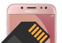 Samsung Galaxy J5 Pro SD Kart Biçimlendirme