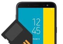 Samsung Galaxy J6 SD kart biçimlendirme