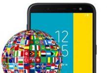 Samsung Galaxy J6 dil değiştirme