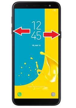 Samsung Galaxy J6 ekran görüntüsü alma