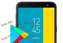 Samsung Galaxy J6 google play hataları