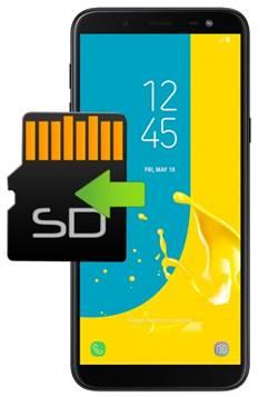 Samsung Galaxy J6 uygulamaları hafıza kartına taşıma