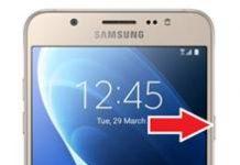 Samsung Galaxy J7 2016 ekran görüntüsü alma