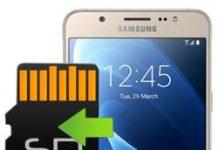 Samsung Galaxy J7 2016 uygulamaları hafıza kartına taşıma