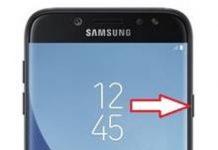 Samsung Galaxy J7 2017 ekran görüntüsü alma