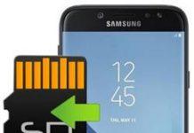 Samsung Galaxy J7 2017 uygulamaları hafıza kartına taşıma