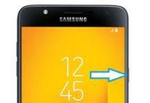 Samsung Galaxy J7 Duo ekran görüntüsü alma