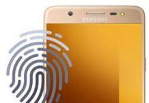 Samsung Galaxy J7 Max parmak izi ekleme