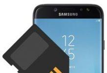 Samsung Galaxy J7 Pro SD kart biçimlendirme