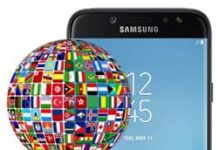 Samsung Galaxy J7 Pro dil değiştirme