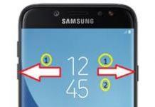Samsung Galaxy J7 Pro ekran görüntüsü alma