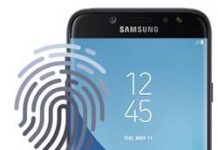 Samsung Galaxy J7 Pro parmak izi ekleme