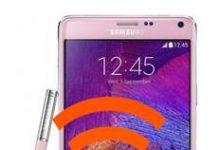 Samsung Galaxy Note 4 Ağ Ayarlarına Sıfırlama