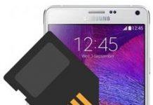 Samsung Galaxy Note 4 SD kart biçimlendirme