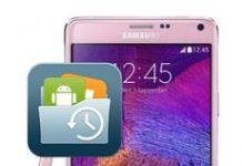 Samsung Galaxy Note 4 Veri Yedekleme