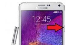Samsung Galaxy Note 4 ekran görüntüsü alma