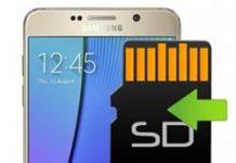 Samsung Galaxy Note 5 uygulamaları hafıza kartına taşıma